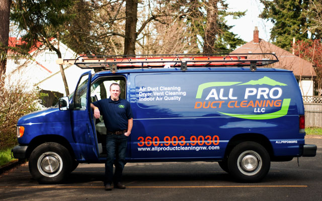 Contact All Pro Duct Cleaning Llc Vancouver Wa